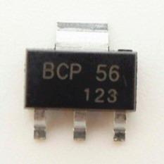pack x 5 unidades transistor bcp56 bcp56t1g 80v 1a sot223