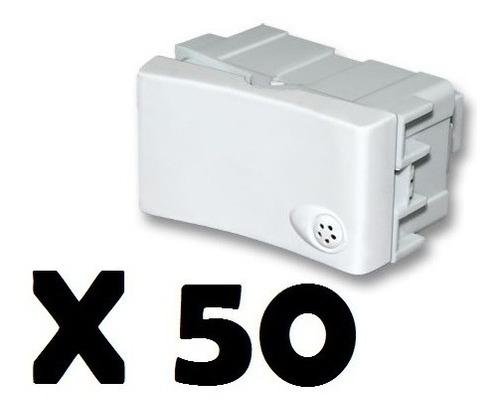 pack x 50 teclas para bastidor regina modulo punto