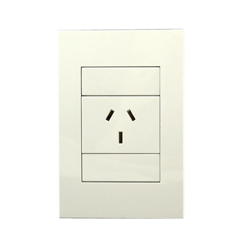 pack x 6 llave de luz 1 toma completa brava blanco sica