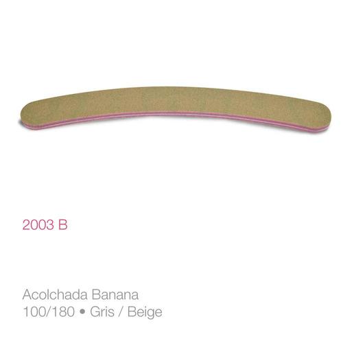 pack x 6 unidades lima para uñas 2003b raffinée