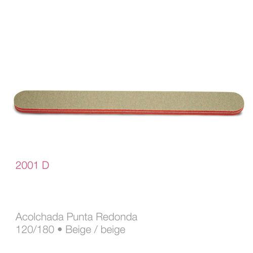 pack x 6 unidades lima para uñas acolchada 2001d raffinée