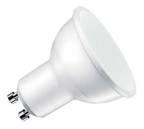 pack x 60 lámpara dicroica led 7w gu10 220v candil