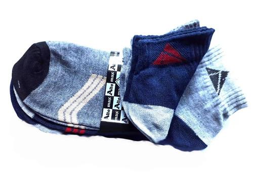 pack x docena - medias soquetes mujer y hombre- por mayor -