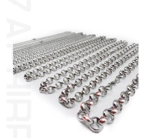 pack x10 cadenas rolo de medidas surtidas acero quirurgico x mayor
