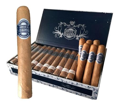 pack x10 cigarro dominica robusto francisco miranda robustos