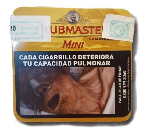 pack x10 clubmaster mini cigarrillos todos sabores cigarros
