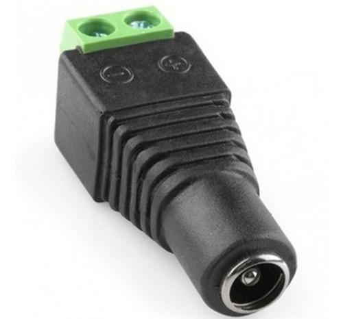 pack x10 conector dc hembra de poder dc cámaras