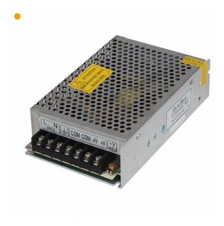 pack x10 fuente switching 12v 10a proteccion tira led cctv