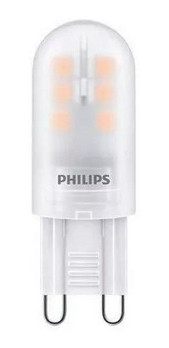 pack x10 lamparas bipin led capsule philips 1,6w = 25w g9