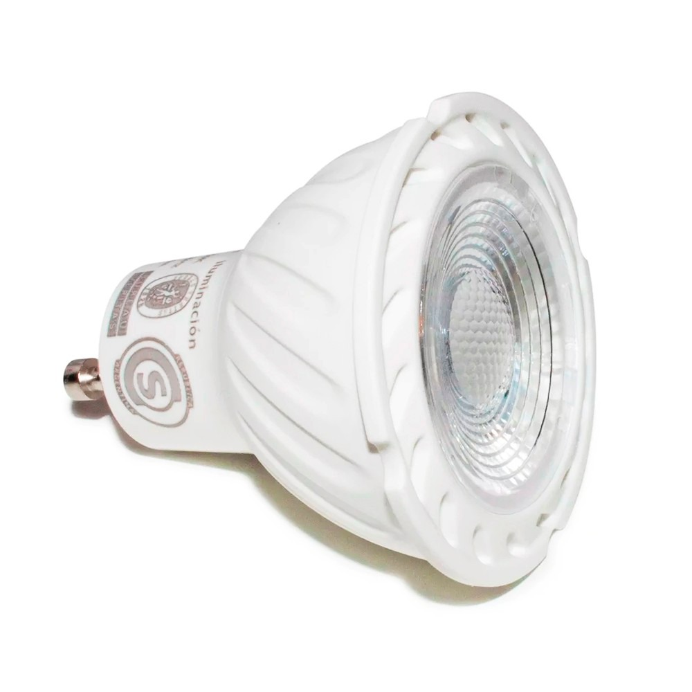 Pack X10 Lamparas Dicroicas Led 6w Gu10 220v Calida Fria - $ 1.028 ...