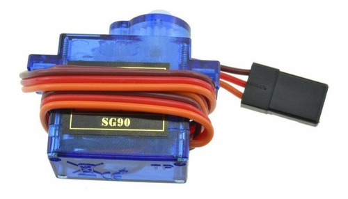 pack x10 mini servo tower pro sg90 9g servomotor arduino