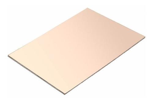 pack x10 placa de cobre circuito impreso virgen 15x20 cm