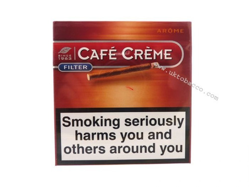 pack x100 aroma filter cafe creme arome puritos cigarros