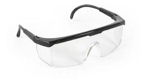 pack x12 lentes de seguridad luna clara con antiempañante