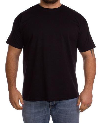 pack x12 remeras lisa talles super especiales - 100% algodón