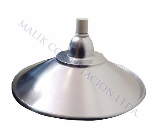 pack x2 ampolletas lampara led campana 18w e27 industrial
