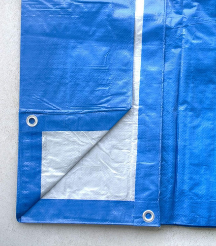 pack x2 lona carpa multiusos impermeable carga 5x6 metros
