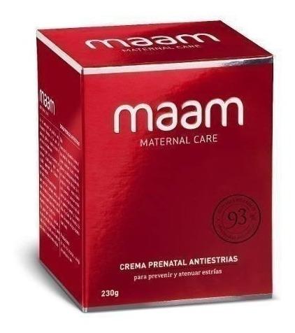 pack x2 maam crema antiestrías prenatal y postnatal, 230 gr.