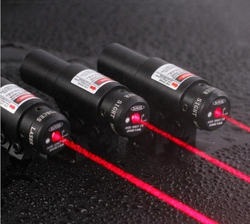 pack x2 mira laser puntero rojo airsoft fusiles spike jg8-r