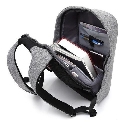 pack x2 mochila bolso antirrobo notebook