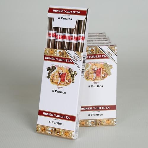 pack x3 habanos cigarros cubanos romeo y julieta puritos