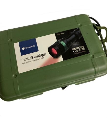 pack x3 linterna táctica luz roja 08505 .: mundotecno :.