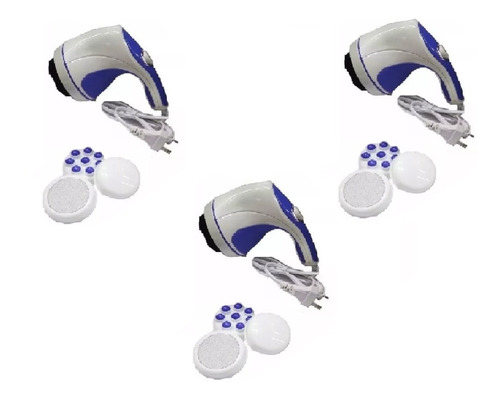 pack x3 masajeador electrico