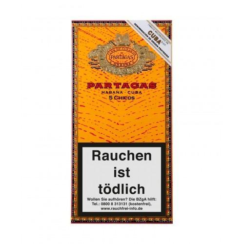 pack x3 partagas habanos chicos puritos cigarros cubanos