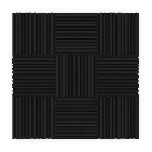 pack x30 paneles acústicos eco 50mm + 4 trampas de graves