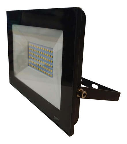 pack x4 reflector proyector led 50w exterior calido frio