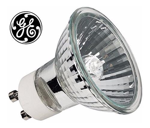 pack x5 dicroica general electric gu10 220v 50w calida tz