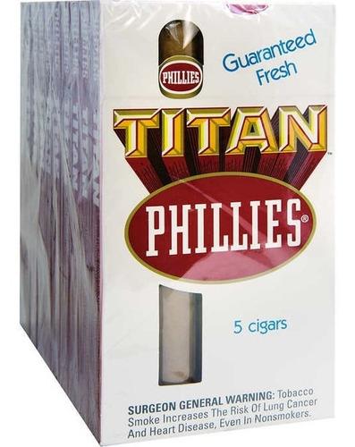 pack x5 phillies titan cigarros todos sabores habanos puro