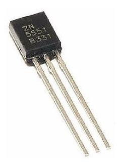 pack x5 unidades 2n5551 2n 5551 2n-5551 npn 160 v 0.6 a