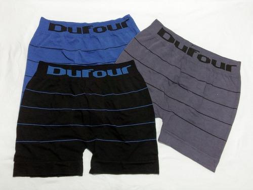 pack x6 dufour boxer hombre seamles rayado 11881 t.s/xxl