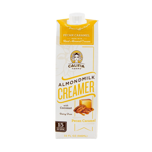 pack x6 leche de almendras pecan caramel califia farms 946ml