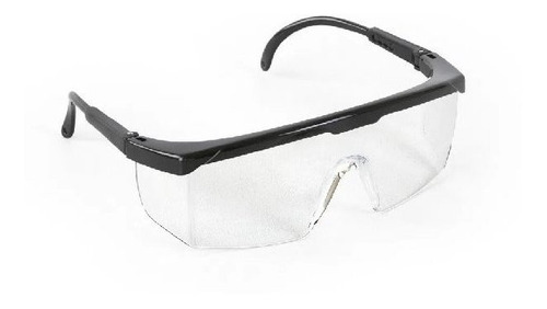 pack x6 lentes de seguridad luna clara con antiempañante