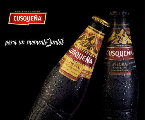 pack x6u cerveza cusqueña golden 330 ml cerveza peru