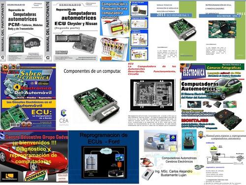 pack50 curso reparación ecus computadoras automotriz en pdf
