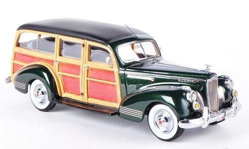 packard 110 deluxe wagon, metallic-dunkelgrün / óptica de m