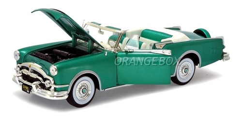 packard caribbean 1953 1:18 yat ming 92798-verde