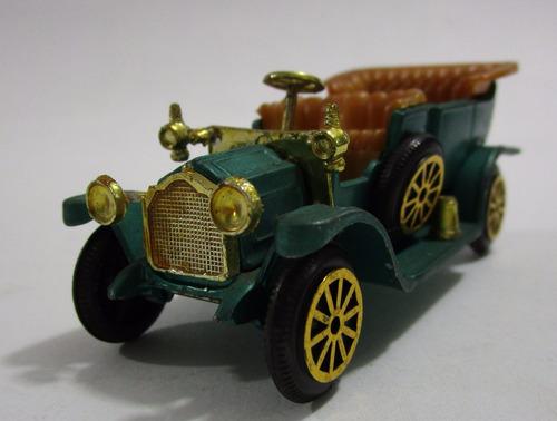 packard carro antiguo escala 8.5cm largo coleccion metalico