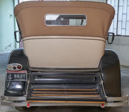 packard phaeton 1929 series 633