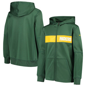 6f957bbe4 Packers Sudadera Chamarra Hoodie Nike Nfl Original! Oficial