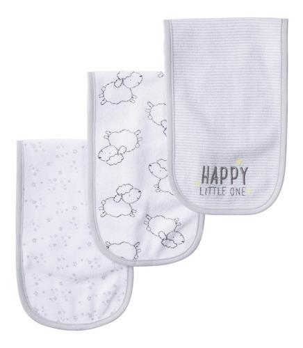 packs de 3 provecheros tela toalla babitas gerber corderitos