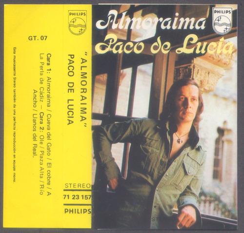 paco de lucia - almoraima   cassette original