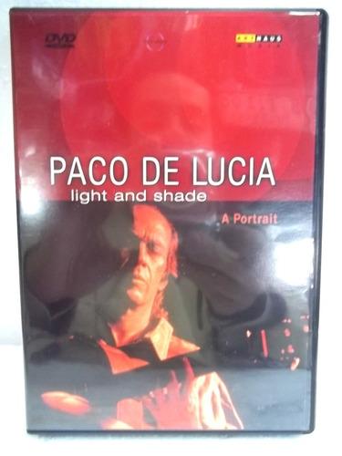 paco de lucia light shade a portrait dvd imp