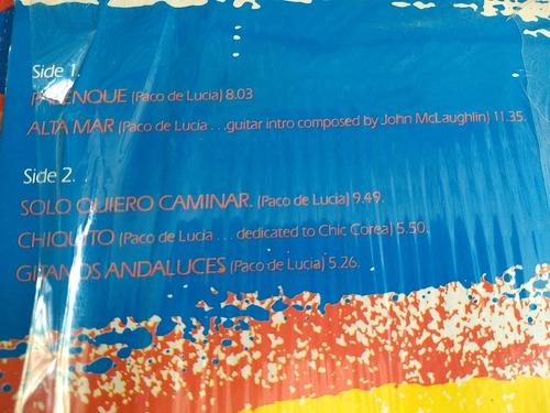 paco de lucía lp sextet one summer night 1984  r