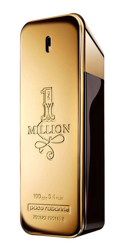 paco rabanne 1 million perfume masculino edt 100ml blz