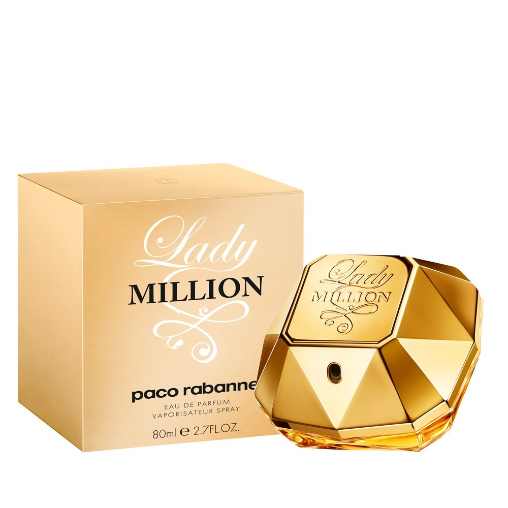 f16c9f6d70334 paco rabanne lady million edp 80ml feminino original lacrado. Carregando  zoom.