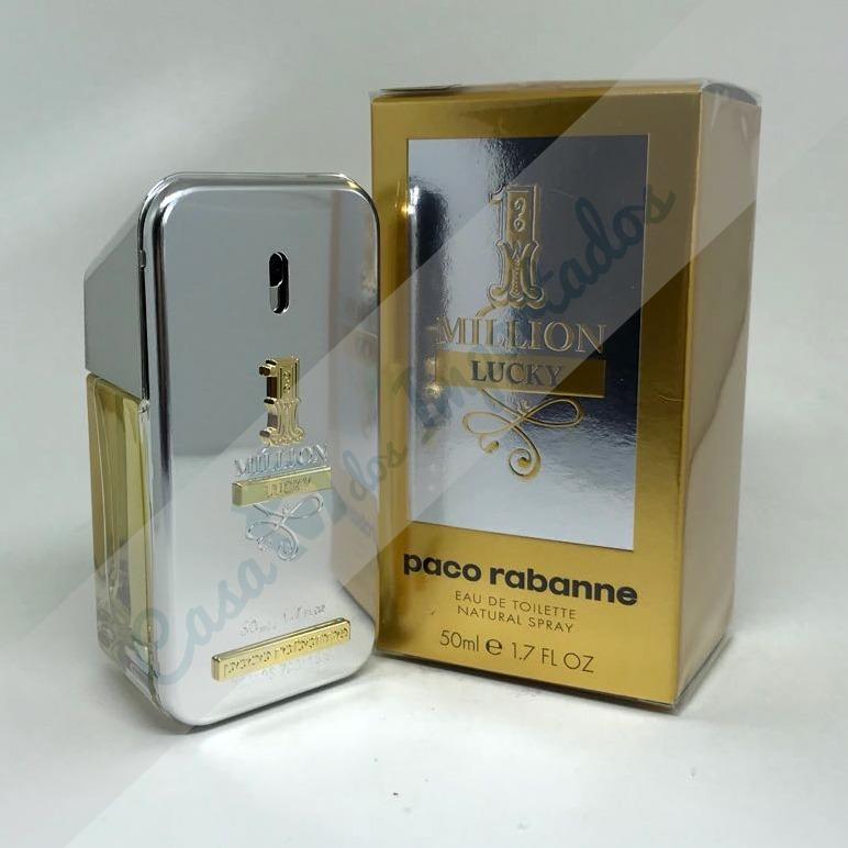 aa1760a329 Paco Rabanne One 1 Million Lucky 50ml Masculino